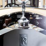 STIMAC Karosserietechnik Werkstatt Innenansicht Rolls Royce Logo